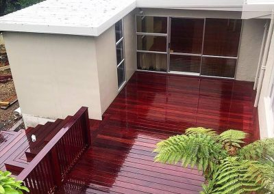 Purple Heart Decking