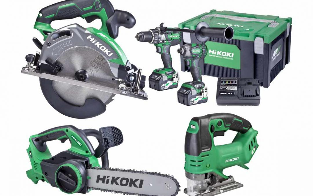 One Stop Deck Shop NOW Selling the Hikoki Power Tool Range!
