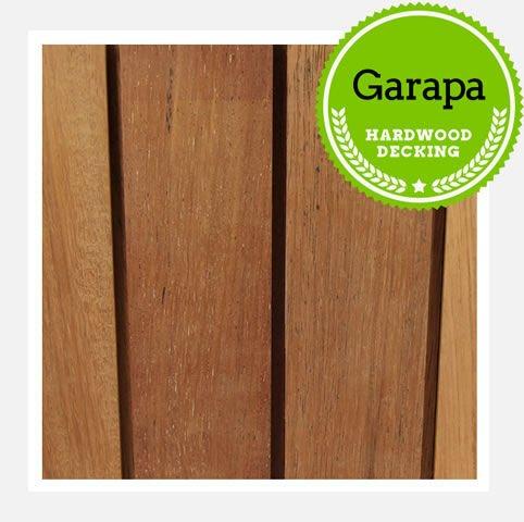 Garapa decking timbers grey one stop deck shop decking for 33 iversen terrace christchurch