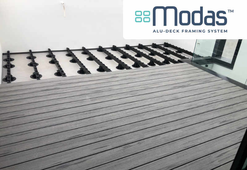 modas alu framing decking one stop deck shop nz