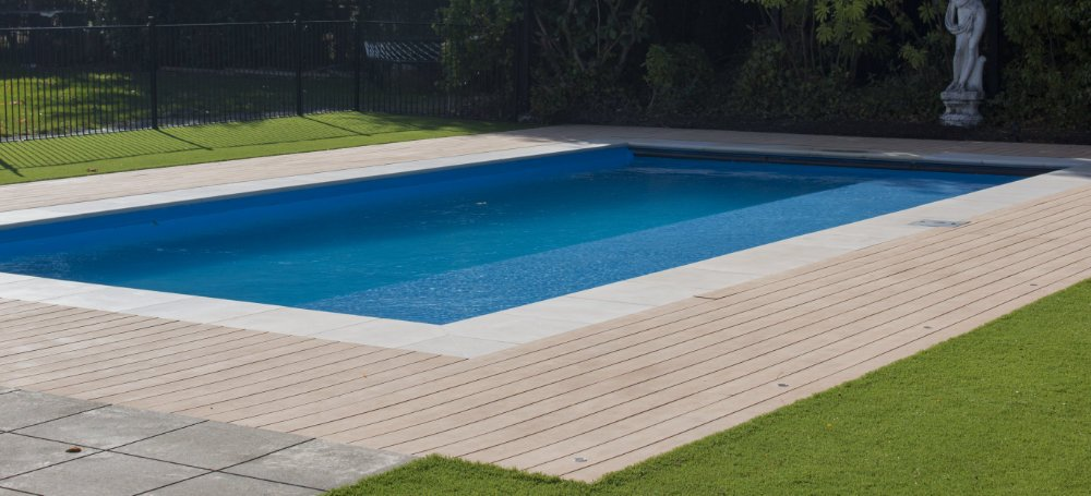Modwood composite decking wpc nz pool