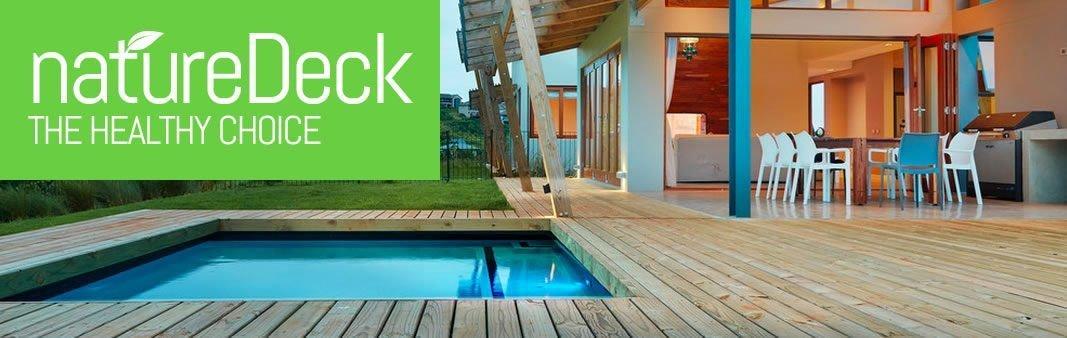 Naturedeck image logo one stop deck shop decking timber for 33 iversen terrace christchurch